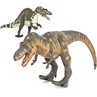 Terra by Battat – Toy Dinosaur Set with T-Rex (2pc) – Collectible Dinosaurs and Toys for Kids Age 3+