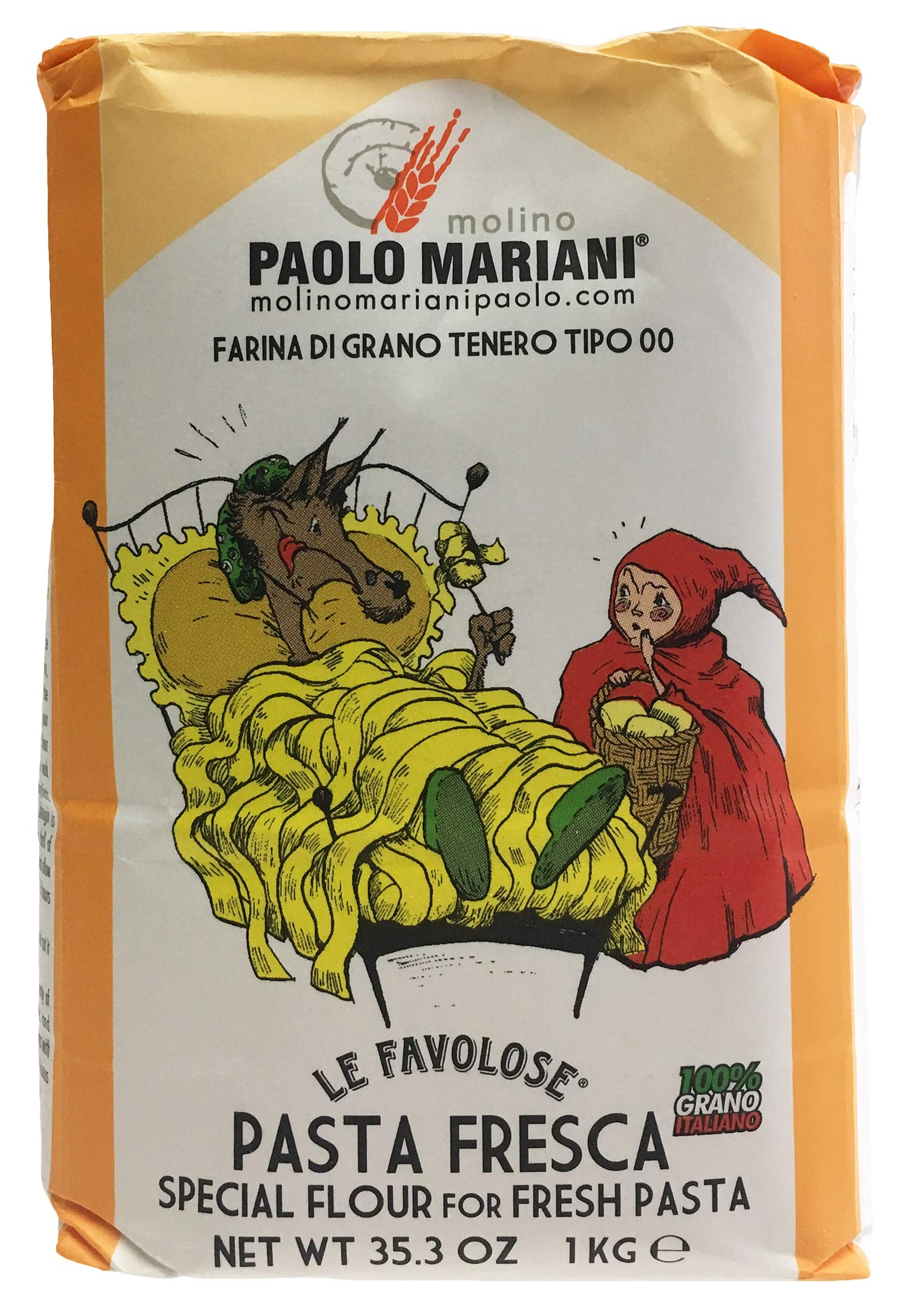 Amazon.com : PAOLO MARIANI Durum Wheat Semolina Flour for
