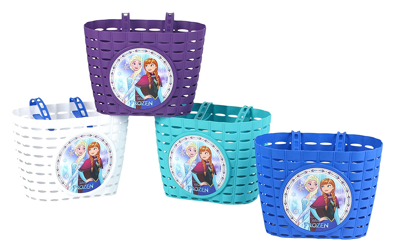Frozen Kinder Fahrrad Korb Walt Disney Kinder Fahradkorb Farblich sortiert