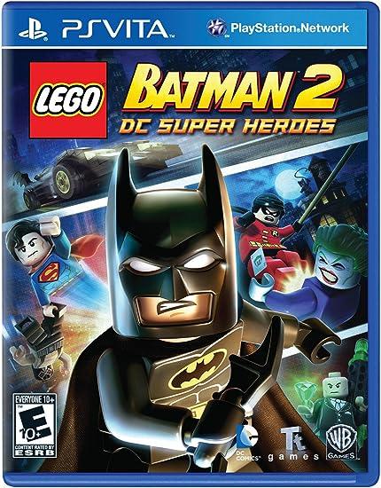 Amazoncom Legobatman2 Dc Super Heroes Playstation Vita