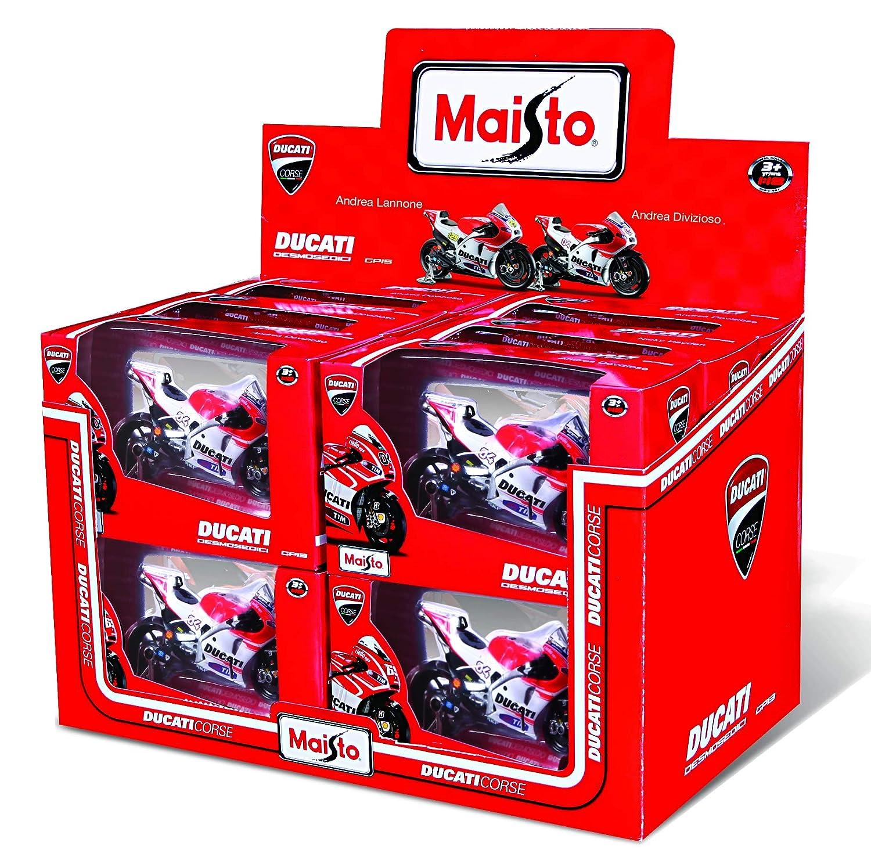Maisto M31588 1:18 Scale The Motogp 2015 Ducati Desmosedici Bike As Ridden By Andrea Iannone Model