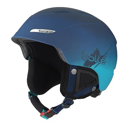 28ea7d36b Bolle B-Yond Adult Ski Snowmobile Helmet - Soft Blue Gradient / 54-58cm