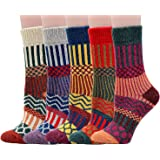 Winter Women Girls Warm Socks,TMVOK Thick Cotton Wool Casual Comfortable Crew Socks