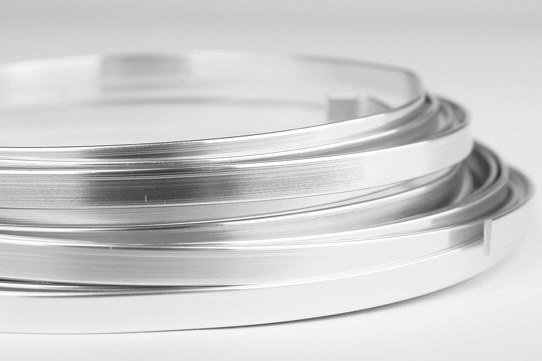 Creacraft Aluminium Flachdraht 1x5 mm - 5 Meter Rolle: Amazon.de ...