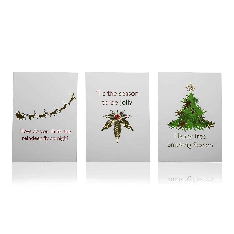 tribetokes Cannabis Urlaub Karten   Funny Marijuana Gag Geschenke ...