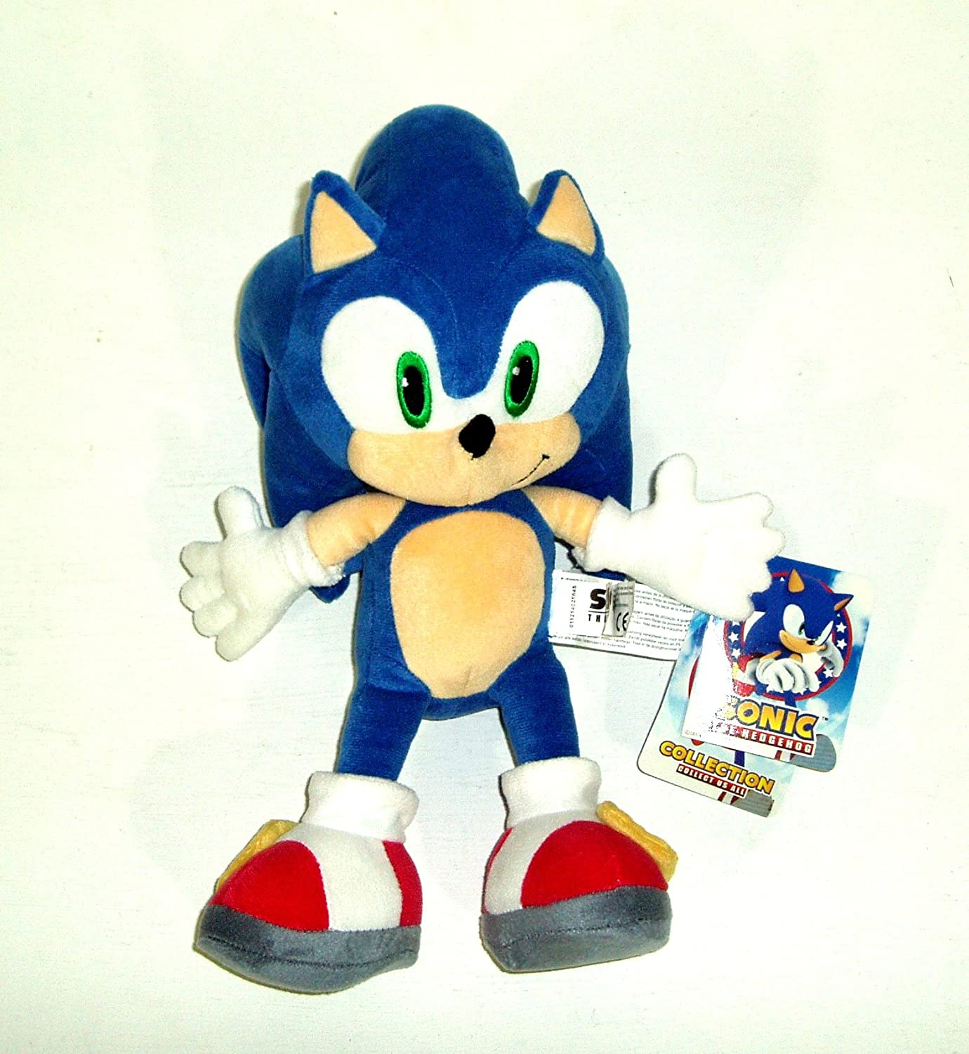 Amazon.com: Sonic The Hedgehog & Friends Full Set 33 Cm Soft Toys: Toys & Games