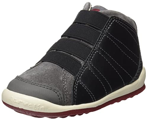 Garvalín 171652, Botas para Niños, (Negro/Marengo/Sauvage/Serraje), 27 EU: Amazon.es: Zapatos y complementos