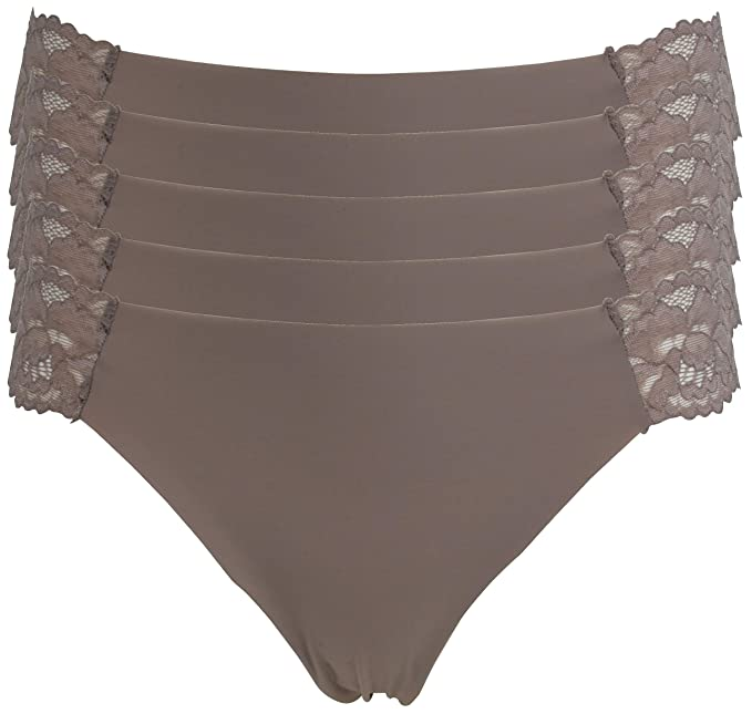 Ex-Store Multipack Smooth Microfibre Shortie Knickers
