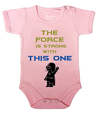 Future Jedi with Rey Funny Star Wars Onesie  Baby Shower Gift FAST SHIPPING