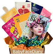 BabyFaceDiary - Authentic Korean Sheet Mask Subscription: Mystery Fun