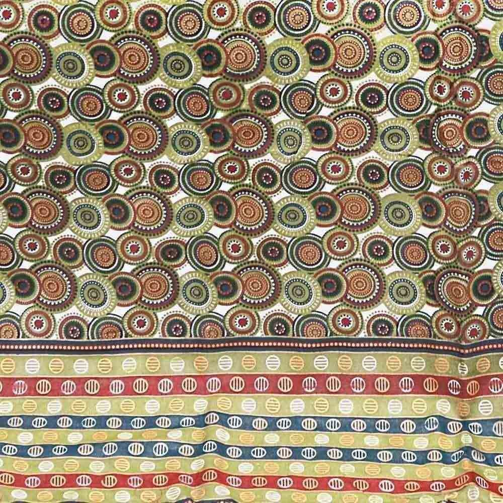 Little India Handblock Print Multicolor Cotton Double Bed Dohar 308 by Little India (Image #3)