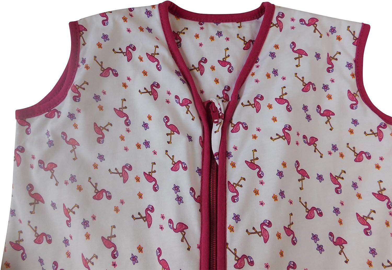 24-36 months//100cm Slumbersac Summer Sleeping Bag With Feet 1.0 Tog Flamingo