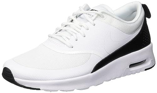 Nike Air MAX Thea, Zapatillas para Mujer, Blanco (WhiteWhite Black 111), 39 EU