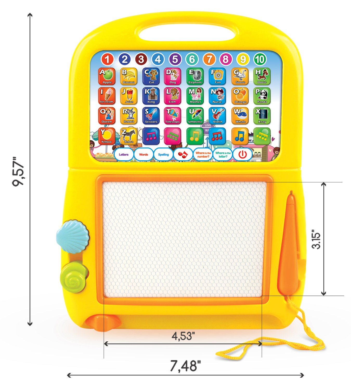 Learning Smart Tablet Baby Kids Toys Preschool Game Education Child Toddler New