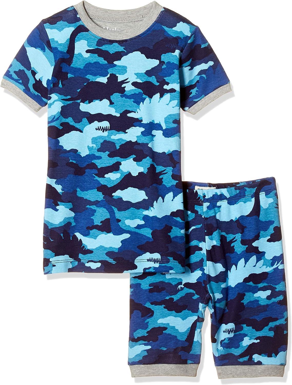Surprise price Hatley Boys' Discount is also underway Organic Cotton Short Sleeve Pajama Set Printed
