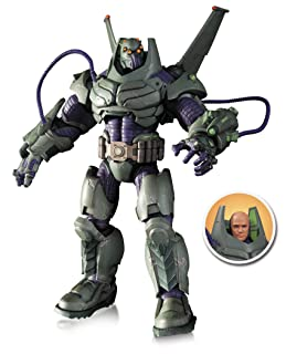 Diamond Select Toys DC Comics Super Villains Armored Lex Luthor Deluxe Action Figure Flat River Group CA JAN140403
