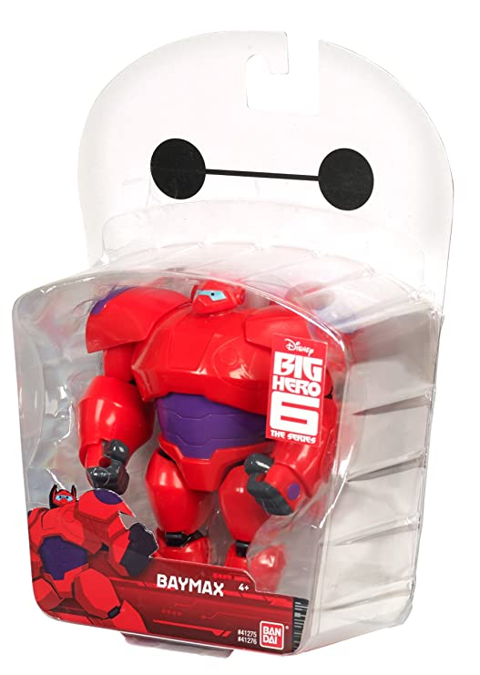 """Baymax Red Big Hero 6 12/"""" Action Figure Bandai Replacement Piece Shoulder pad"""