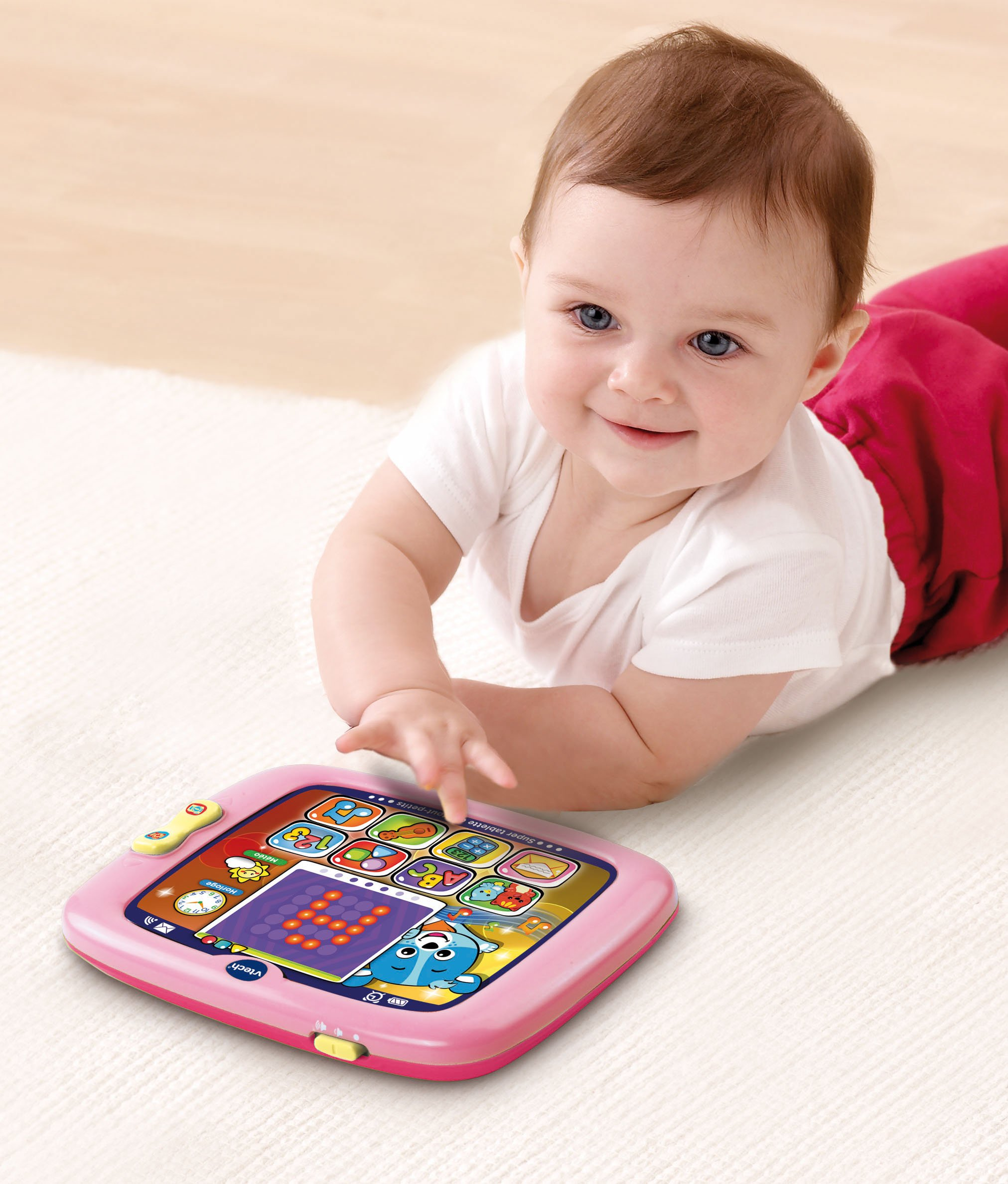 VTech Light-Up Baby Touch Tablet, Pink by VTech (Image #3)