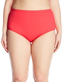 aafa3983dd La Blanca Women s Plus-Size Island Goddess High Waist Bikini Swimsuit Bottom