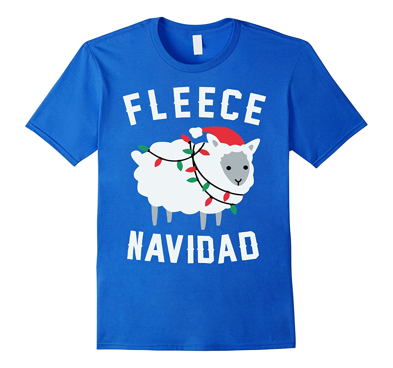 Fleece Navidad Funny Christmas T-Shirt-TD