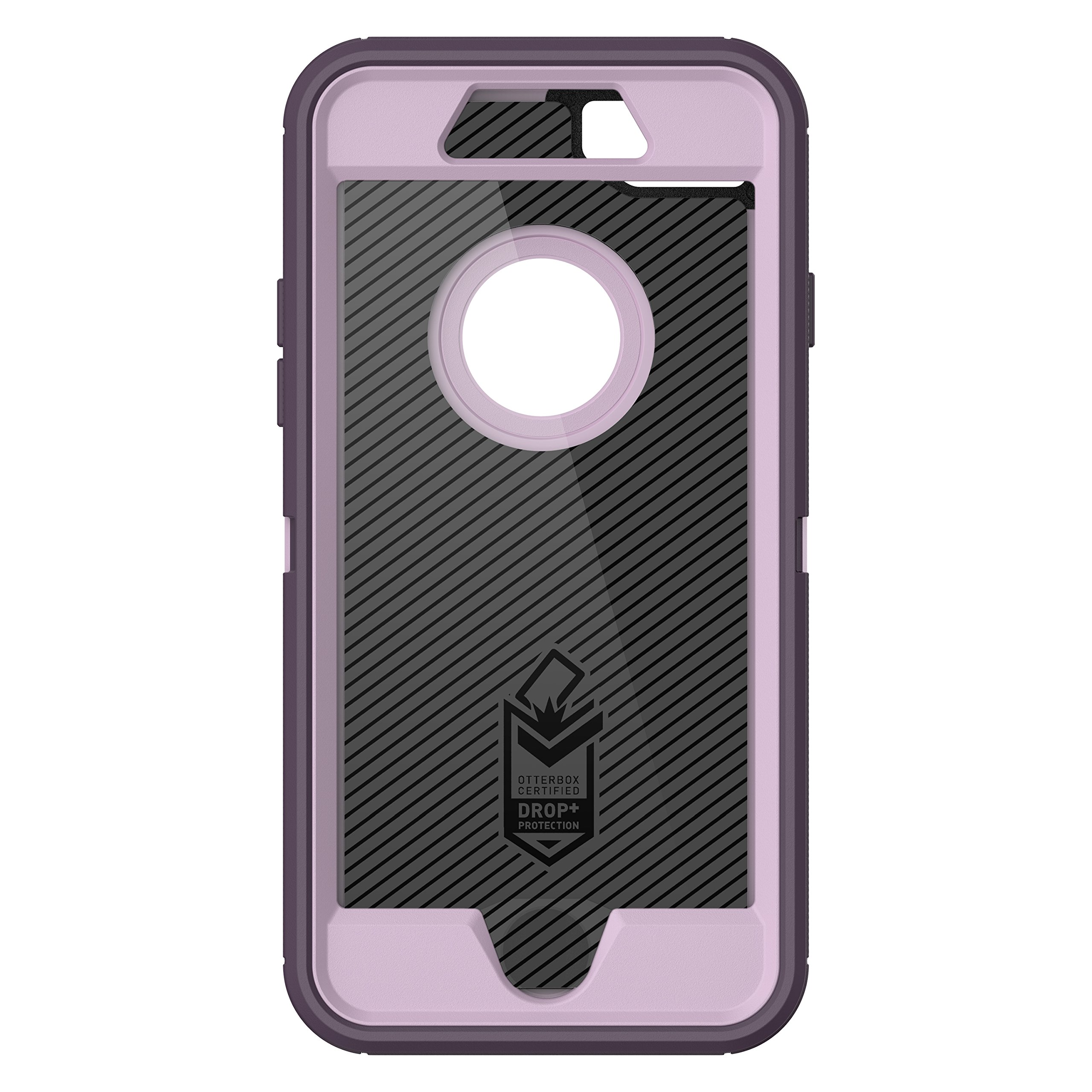 OtterBox DEFENDER SERIES Case for iPhone 8 & iPhone 7 (NOT Plus) - Frustration Free Packaging - PURPLE NEBULA (WINSOME ORCHID/NIGHT PURPLE) by OtterBox (Image #4)