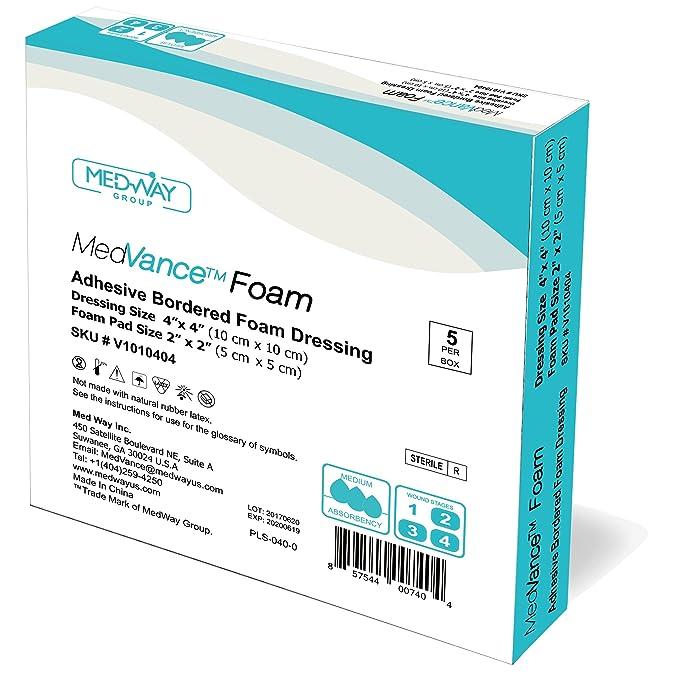 MedVanceTM Espuma: apósito adhesivo de espuma hidrofílica ...