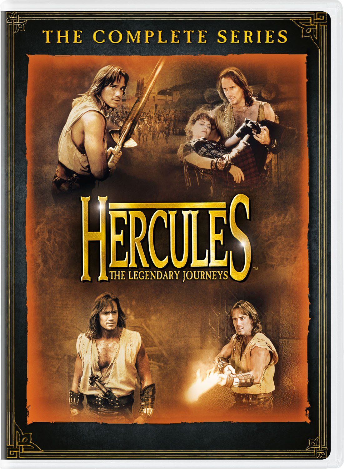 DVD : Hercules: The Legendary Journeys: The Complete Series (Boxed Set, 25PC)