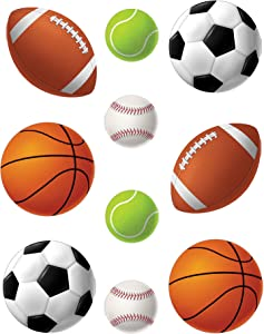 Teacher Created Resources 4086 Sports Balls Accents