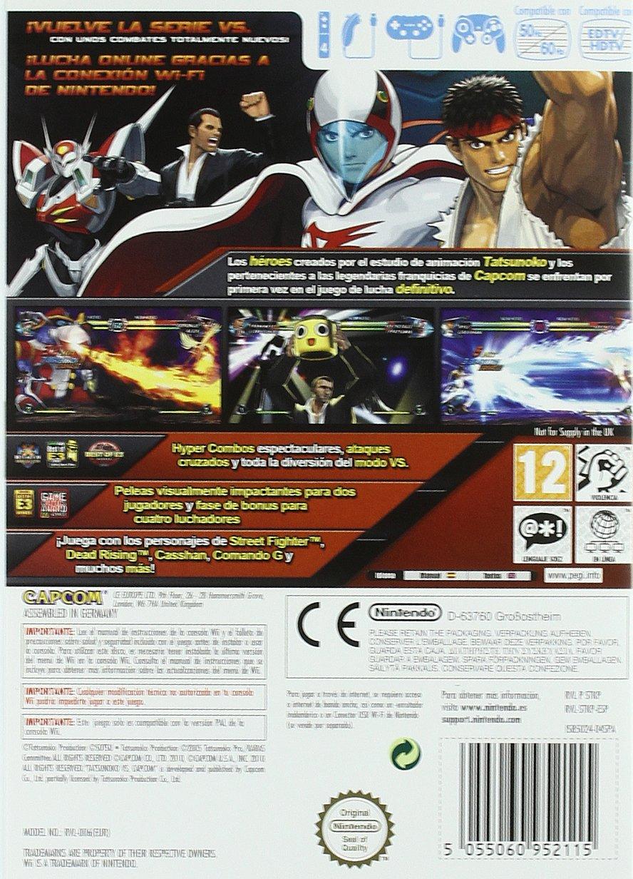 Tatsunoko vs Capcom: Ultimate All-Stars: Amazon.es: Videojuegos