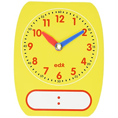 Didax Educational Resources Write-On Wipe-Off Clocks (5): Arts, Crafts & Sewing