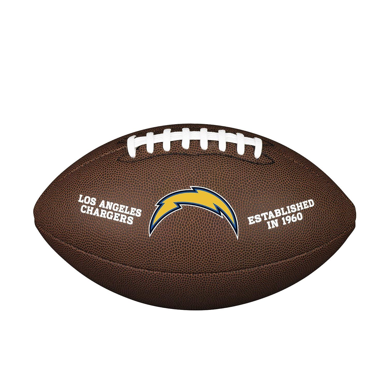 Wilson NFL Boule de licence officielle Team Taille complète Football américain WTF1748BUF