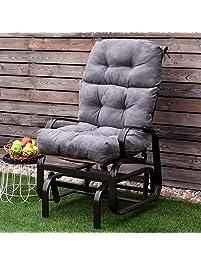 Giantex Patio High Back Chair Cushion ...