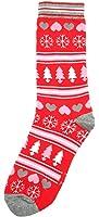 Womens Festive Feet Christmas Socks UK 4-8 EU 37-41