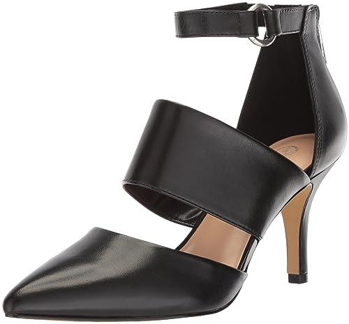 Womens Danica Dress Pump, Champagne Leather, 5.5 M US Bella Vita