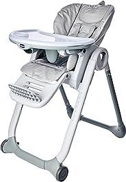 Cadeira Polly2Start, Chicco, Happy Silver