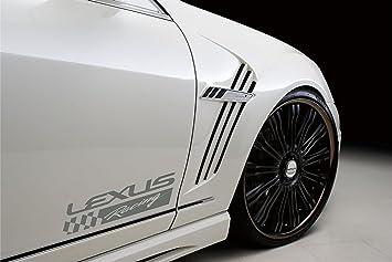 Amazoncom  Lexus Racing Vinyl Decal Sticker Silver Automotive - Lexus custom vinyl decals for car
