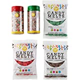 Wilton Holiday Candy Melts Candy Making and Decorating Set, 5-Piece