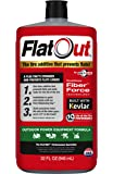 FlatOut 20120 Tire Sealant (Outdoor Power Equipment Formula), Great for Lawn Mowers, Small Tractors, Wheelbarrows…