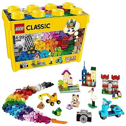Amazoncom Lego Classic Yellow Ideas Special Bricks Box Toys Games