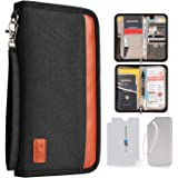 429c961a33b9 CampTeck Travel Wallet Passport Holder & RFID Organiser Pouch for ...