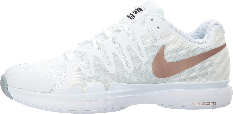Nike 631475, Chaussures de Tennis Femme Blanc WhitePure