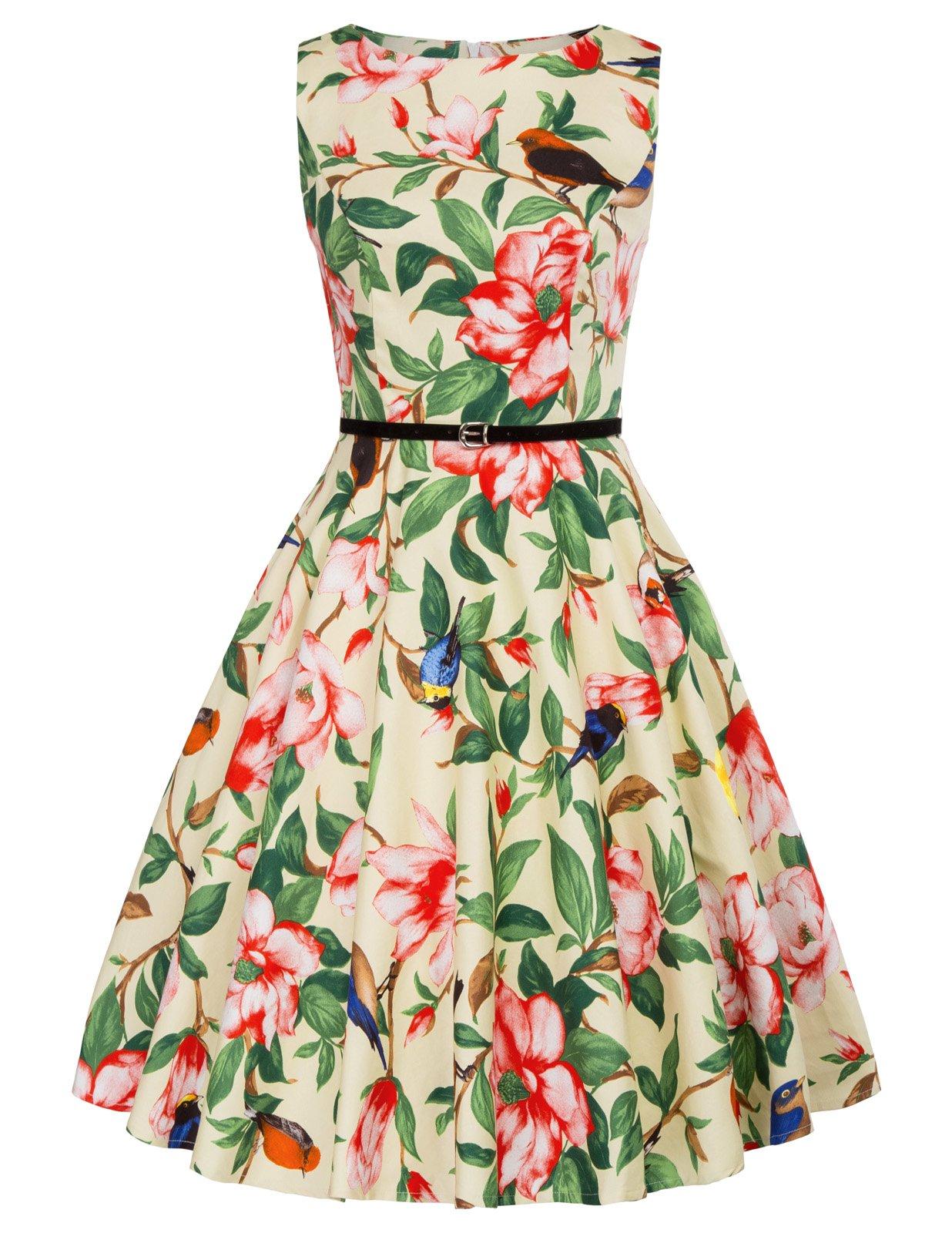 GRACE KARIN Vestido Floral para Fiesta Estampado Vintage Años 50 Retro product image