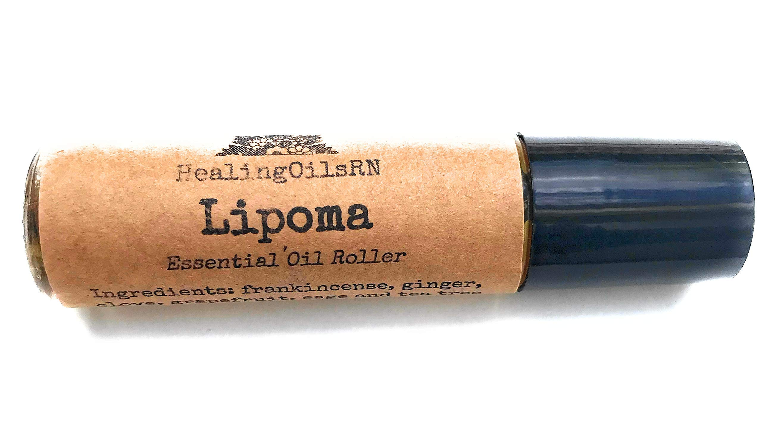 Lipoma fatty tumor essential oil roll-on blend roller 10 ml 100% therapeutic grade and pure by HealingoilsRN LLC