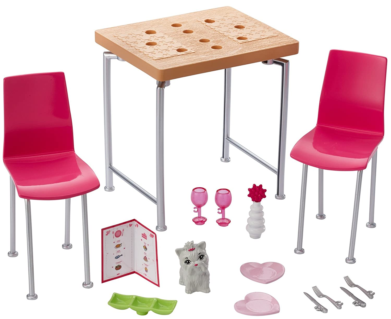 Barbie Date Night & Accessories Playset
