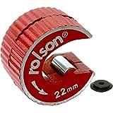 Rolson 22408- Cortatubos de cobre con cuchilla de repuesto