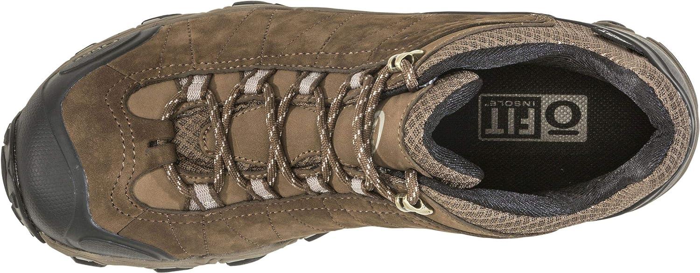 Oboz Mens Bridger Low B-Dry Waterproof Hiking Shoe