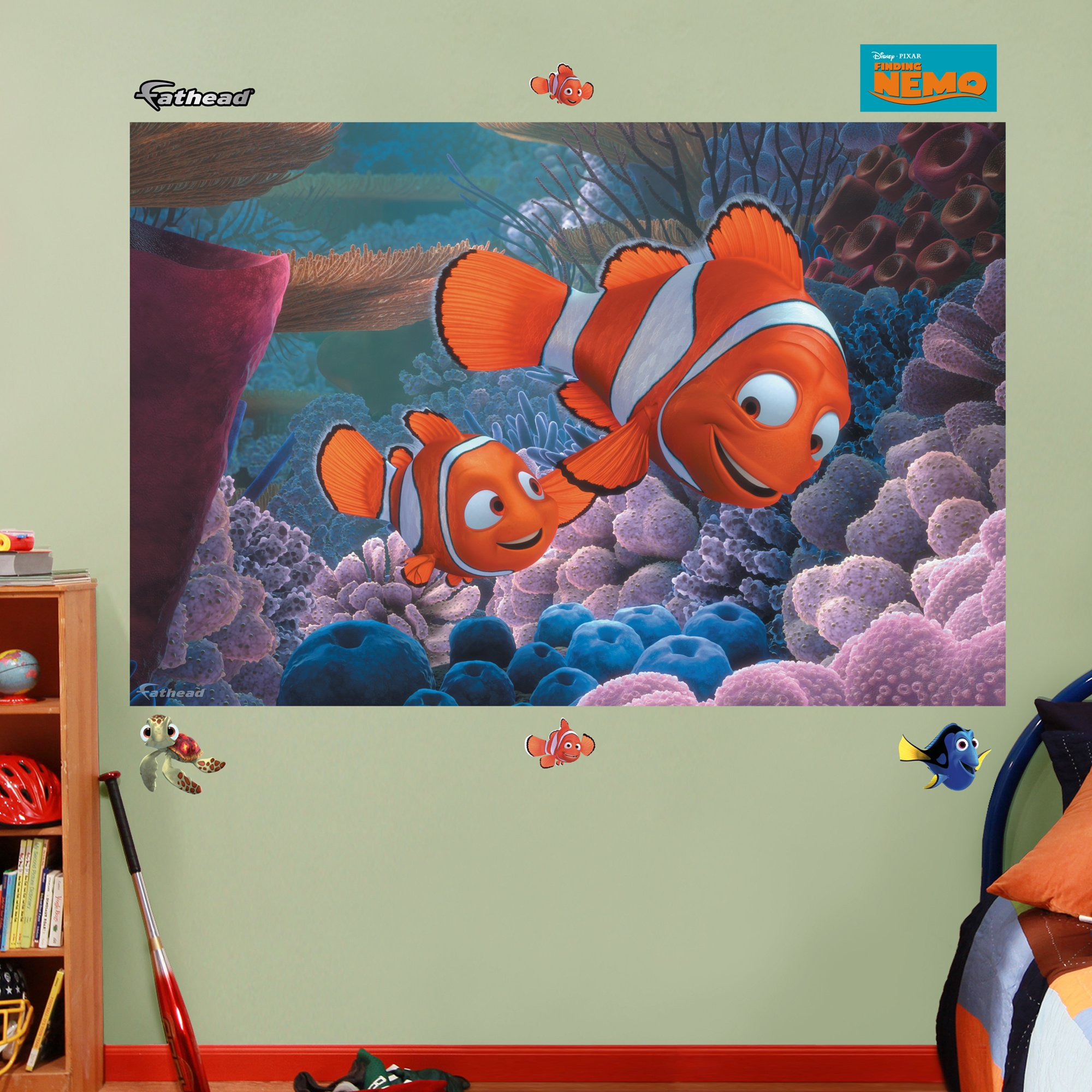 FATHEAD Finding Nemo Mural Graphic Wall Décor