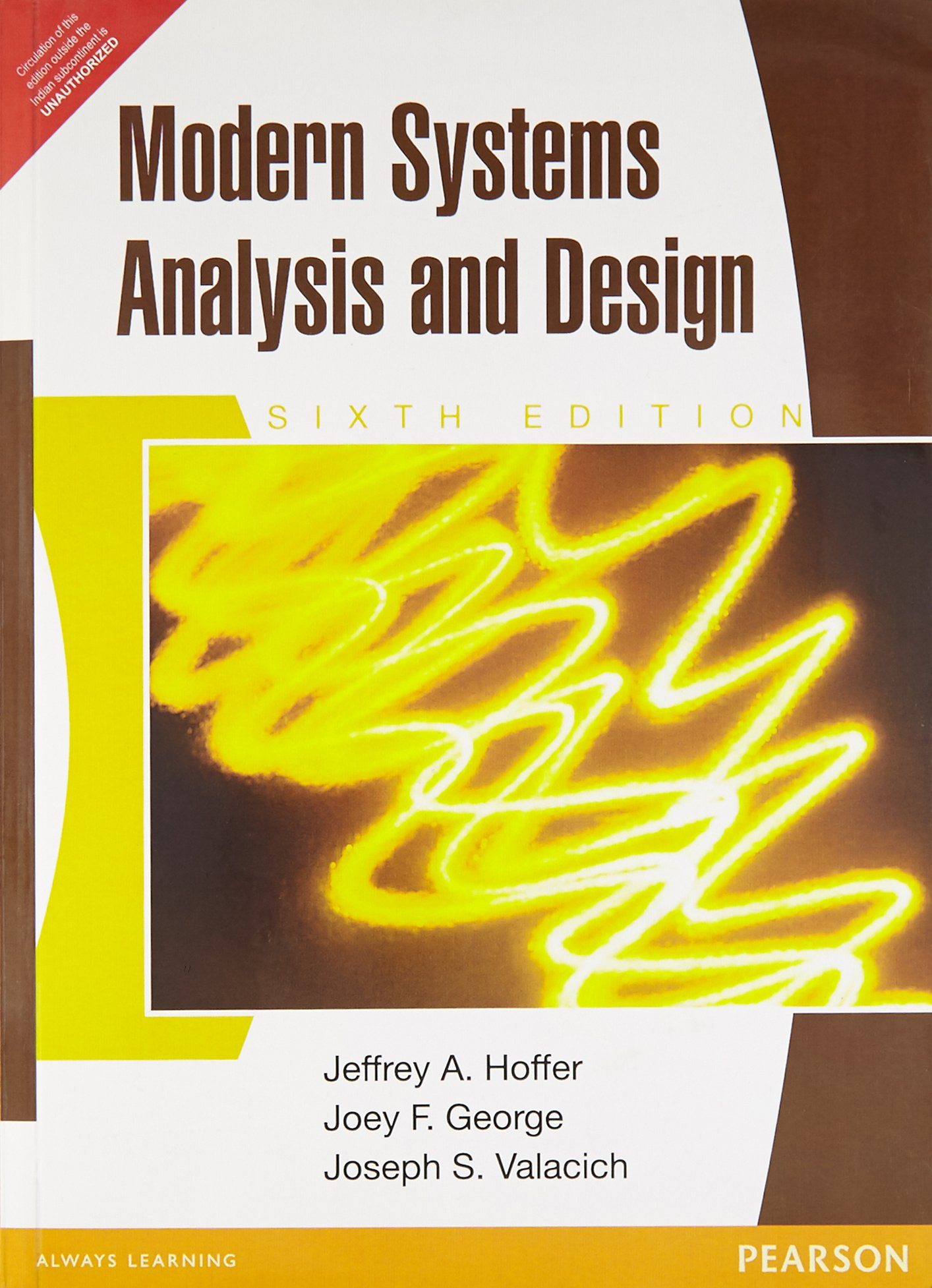 Modern Systems Analysis And Design Sixth Edition Hoffer 9788131761410 Amazon Com Books