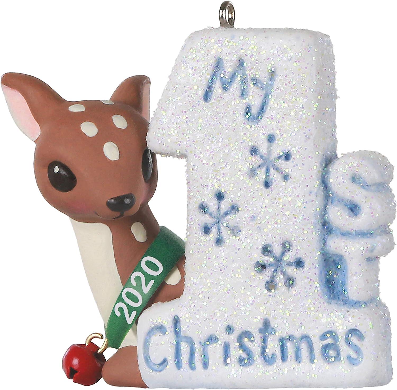 Hallmark Keepsake Ornament 2020 Year-Dated, My First Christmas Baby Deer