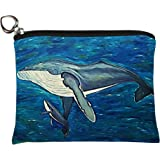 Salvador Kitti Change Purse, Vegan Coin Purse - Animals - from My Original Paintings - Support Wildlife Conservation, Read How (Animals)